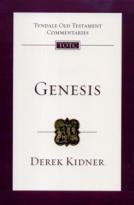 Gensis (TOTC) by Derek Kidner
