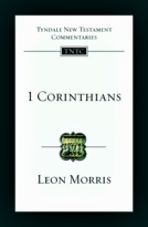 1 Corinthians (TNTC) by Leon Morris