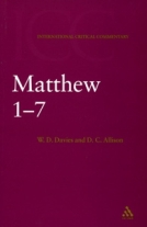 Matthew: International Critical Commentary (2 Vol)