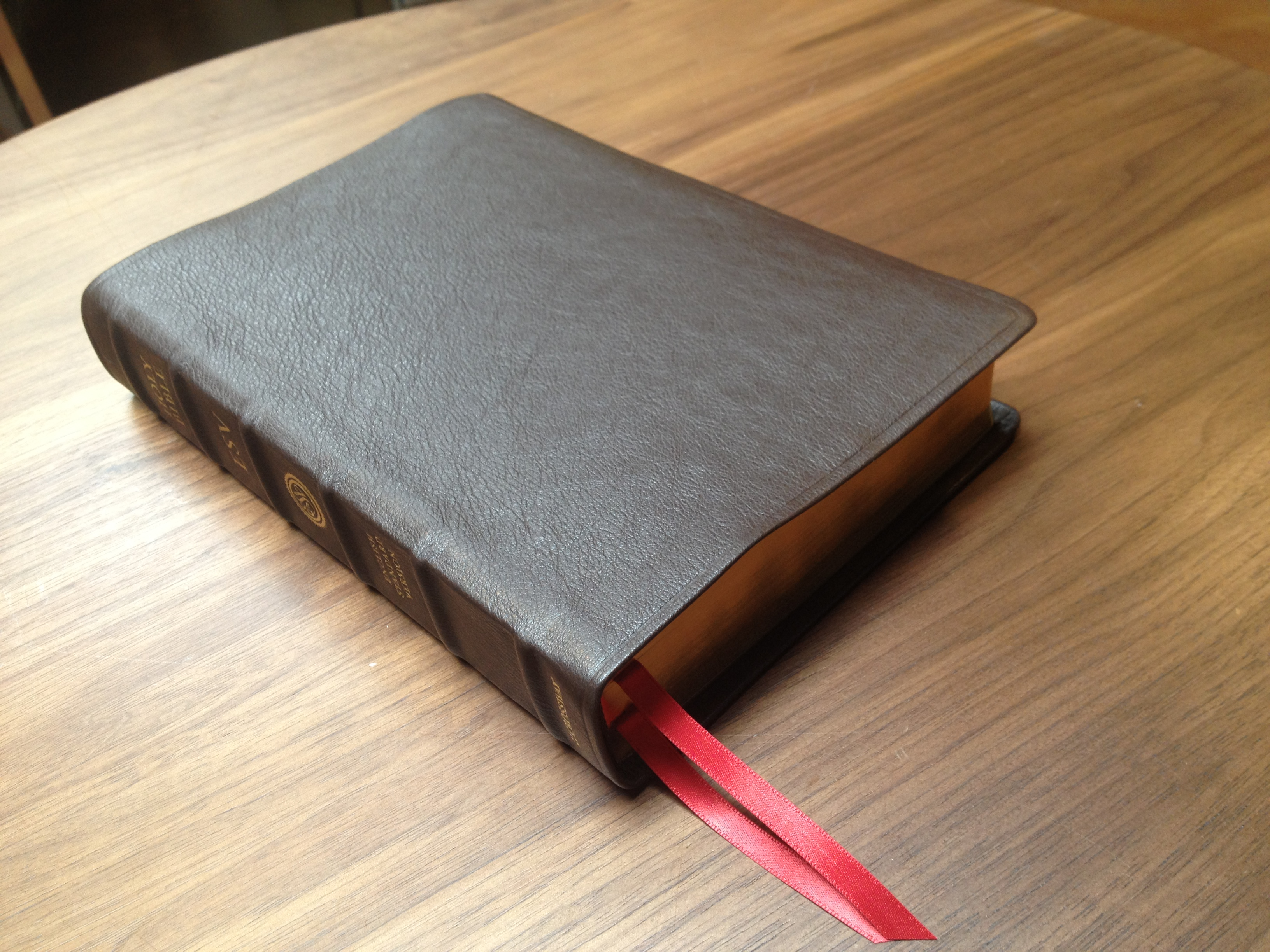 ESV Single Column Legacy Bible (Top Grain Leather)