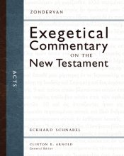 Zondervan Exegetical Commentary - Acts