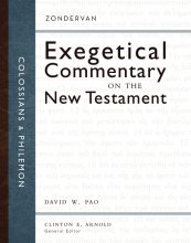 Zondervan Exegetical Commentary - Colossians & Philemon
